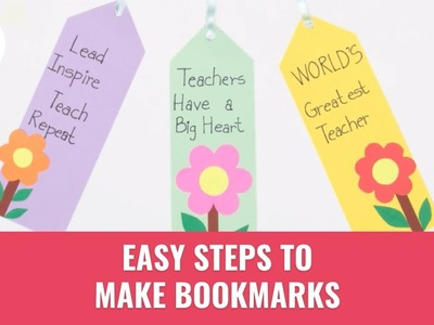 DIY Steps To Make Bookmarks | Summer DIY Ideas | Paper Crafts | Momspresso
