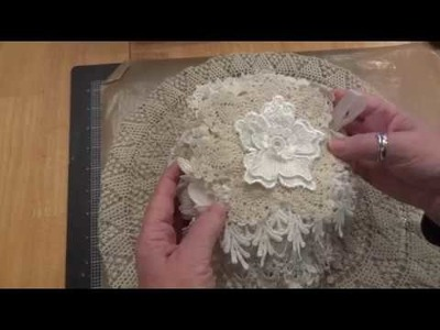 """Evening in Paris"" Doily Album -DIY Project Share - #ShabbyChic #Snippets"