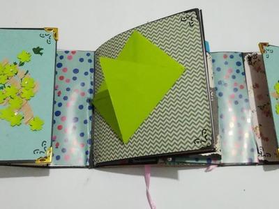 Flip flap scrapbook
