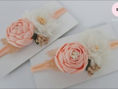 Flowers Crown. Flowers Headband Ideas   DIY by Elysia Handmade