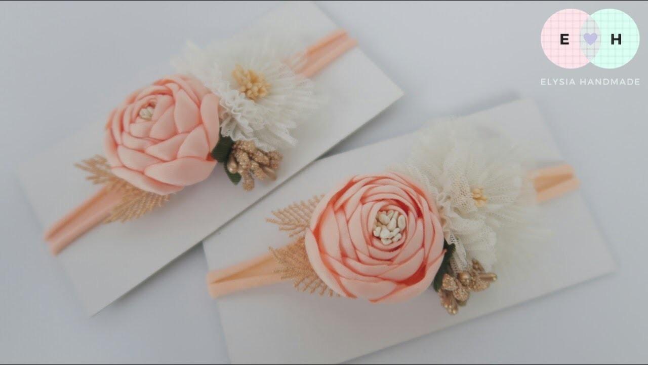 Flowers Crown. Flowers Headband Ideas | DIY by Elysia Handmade