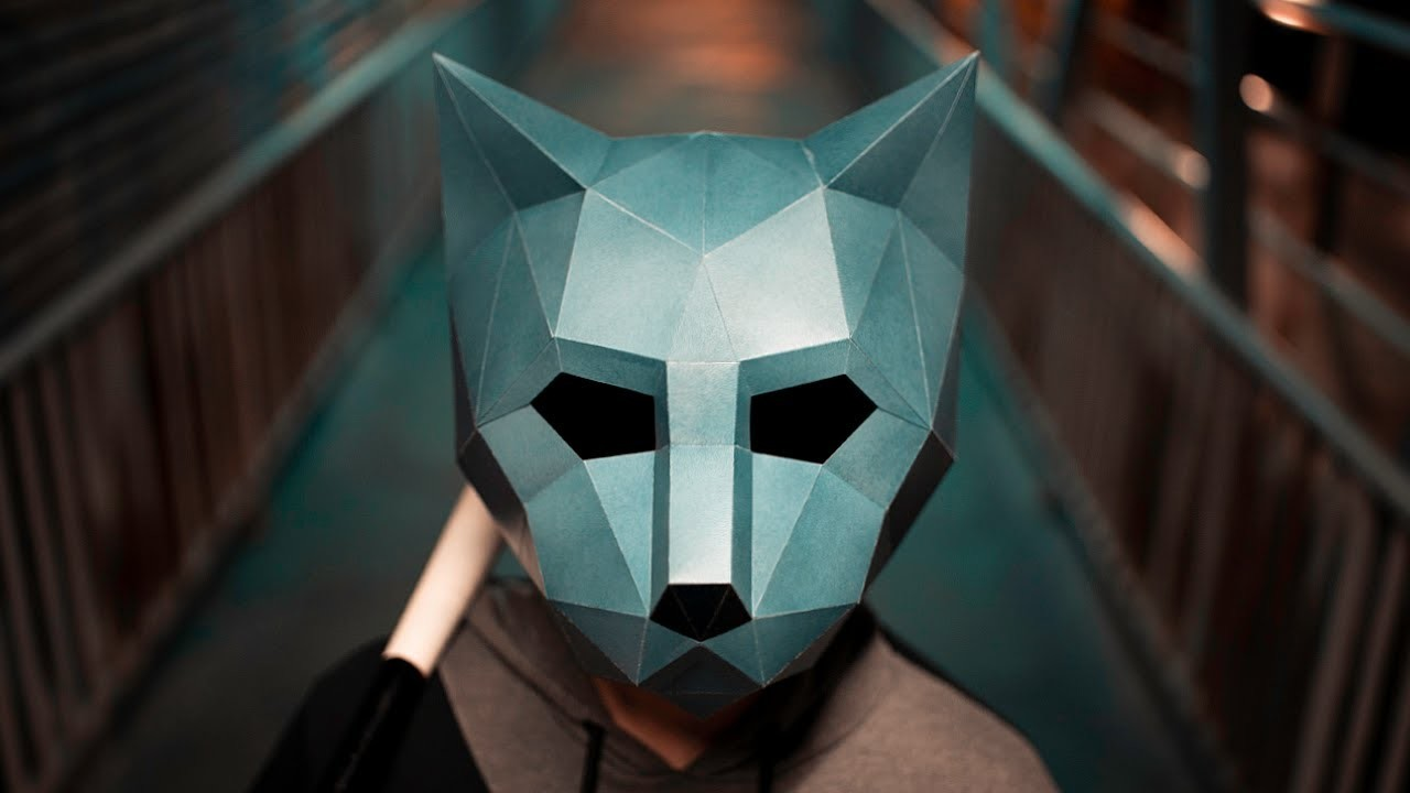 HOW TO MAKE A CAT MASK   DIY