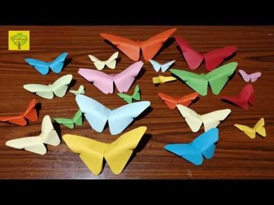 How to make Origami Butterfly - Top Origami