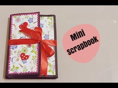 Mini scrapbook#simple mini scrapbook #presented to pradeep machiraju @express raja