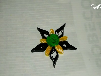 New Techniques of 3D Quilling Flowers. Quilled Flowers