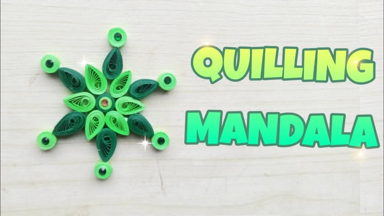 Quilling Mandala????| Easy quilling