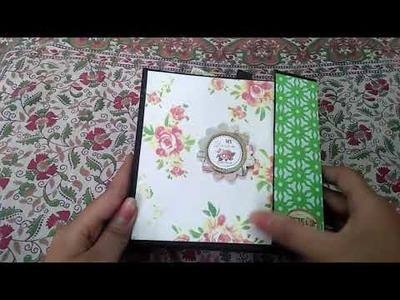 Scrapbook for birthday special