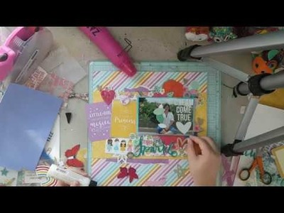 Scrapbook Process Video #65 - Time To Sparkle