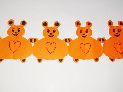 Teddy bear   teddy paper cutting   paper cutting   paper cut   sweety trendzzz