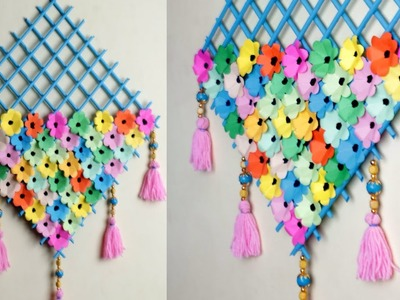 WOW !! DIY Paper Wall Hanging || Easy Wall Decoration Idea || Paper Craft.