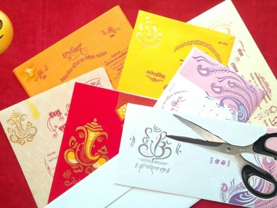 3 ideas of wedding card craft   best out of waste   wedding card craft ideas