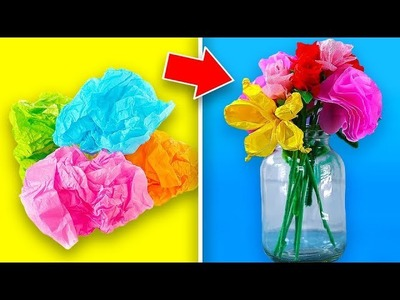 7 Fabulous Flower Crafts To Make
