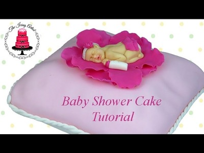 Baby Shower Pillow Cake - How To With The Icing Artist & Woodland Bakery