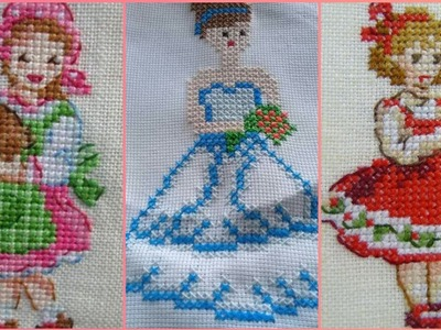 Beautiful And Easy Cross Stitch Doll Patterns