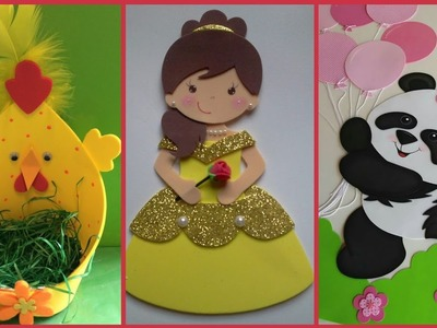 Beautiful and easy Fomic Sheet Crafts Ideas for  kids