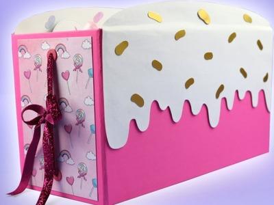 Birthday Cake Scrapbook Album | SCRAPBOOK IDEAS
