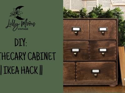 DIY Apothecary Cabinet - IKEA HACK