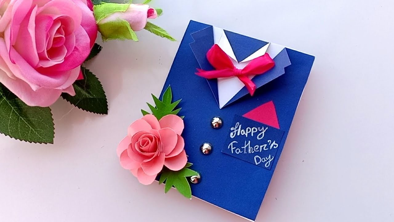 DIY card for Father's Day. Father's Day Card idea