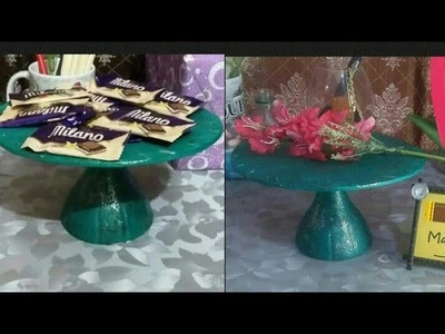 Diy mini cake stand or candy stand |art and craft|