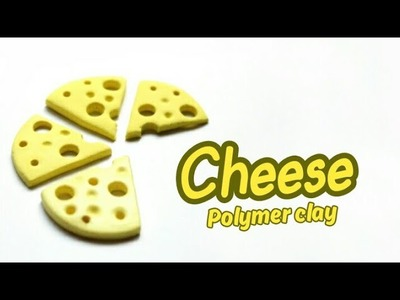 DIY Miniature Cheese | Polymer Clay Tutorial