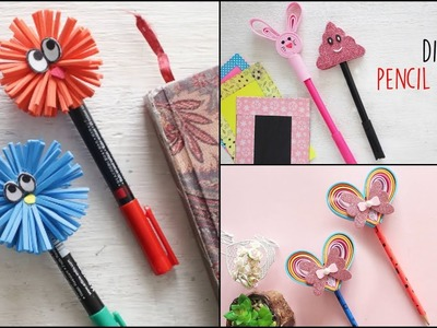DIY Pencil Toppers   Back To School