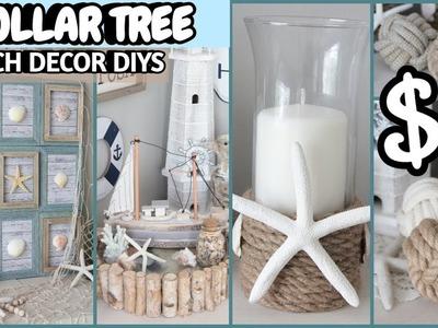 DOLLAR TREE BEACH DECOR DIYS 2019