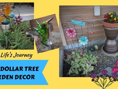Easy Dollar Tree Garden Decor DIYs for less than $5