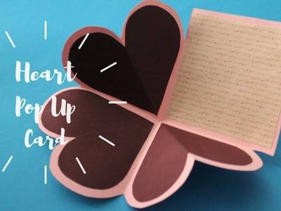 Heart Squash Card | Quick, Easy and Unique Handmade Gift Idea for Father's day