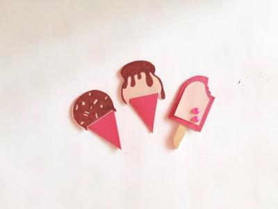 Mini ice cream greeting card idea || card idea for Birthday