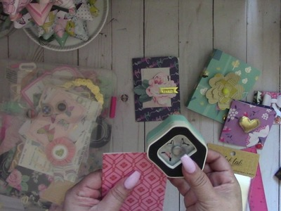 Packaging Ideas for your embellishments~ Pocket Book