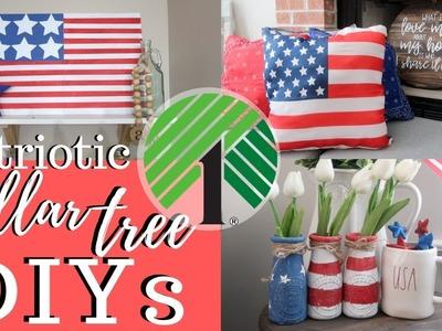 Patriotic Dollar Tree DIYS | Memorial Day & 4th of July! ????????????????????????