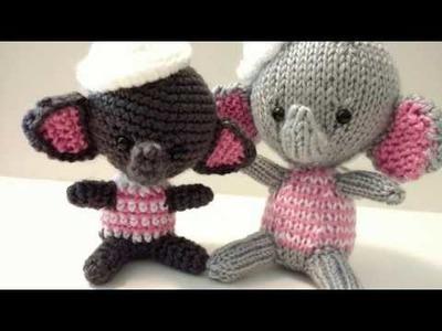 Red Heart Amigurumi Yarn Part 3 **FINISH** Elephants! ????