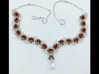 Sculpted Crystal Necklace Tutorial