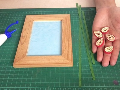 Simple quilling frame for beginners
