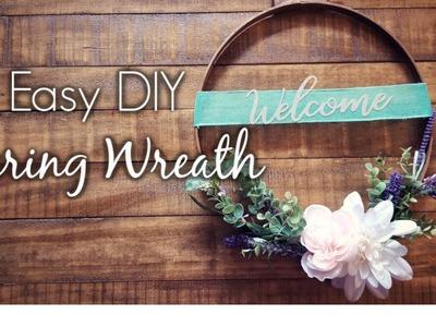 Spring Inspiration: Part 2.DIY Wreath
