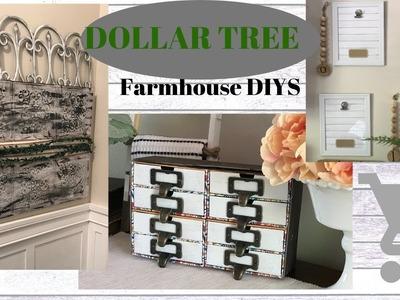 THREE EASY FARMHOUSE DIYS. DOLLAR TREE FARMHOUSE DIY DECOR. BUDGET FRIENDLY DIYS