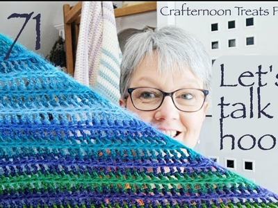 Crafternoon Treats Podcast 71: Lets talk hooks