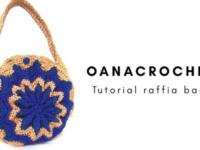 Crochet pinwheel bag by Oana
