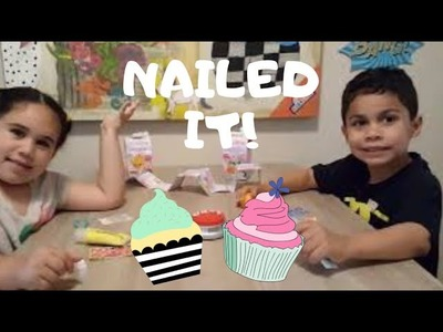 Cupcake Challenge with Alex DIY Sweetlings Craft Kit.  Who will be the winner?