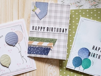DIY Cards, Stamping, Die Cutting & Pattern Papers