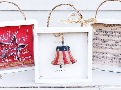 Dollar Store DIY | Fourth of July | Dollar Store DIY Decor | Dollar Tree | Hobby Lobby