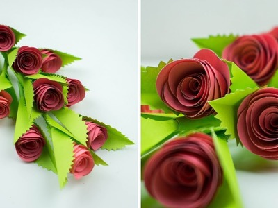 Flower Stick - Beautiful Flower Stick - How To Make Flower Stick - Easy Flower Stick - Paper Craft