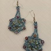 Handmade Austria Crytal Glass Beads Earrings