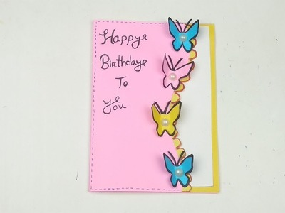 Incredible Butterfly Handmade Butterfly Birthday Card Greeting Card Funny Birthday Cards Online Alyptdamsfinfo