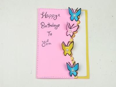 Astounding Butterfly Handmade Butterfly Birthday Card Greeting Card Funny Birthday Cards Online Alyptdamsfinfo