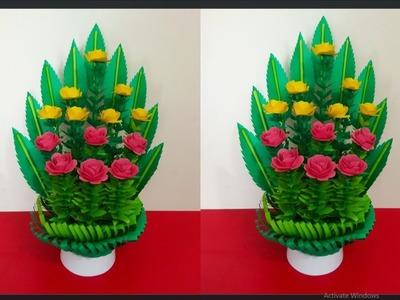Handmade paper Flower Bouquet Paper Flower Bouquet Tutorial Floral Design Bouquet Crazy Craft Ideas