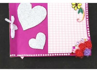 Handmade scrapbook idea