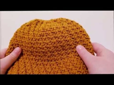How To Crochet: Mommy & Me Ponytail Beanie