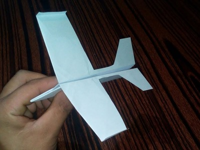 How To Make a Paper Airplane That Flies Far and Fast.DIY Origami Airplane.