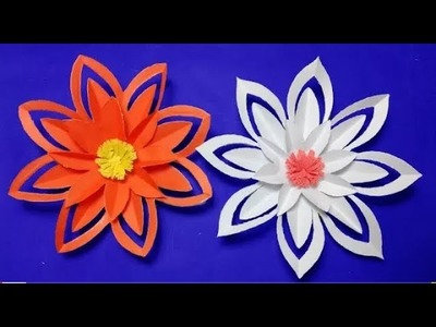 How to make a paper flower easy origami how to make slime